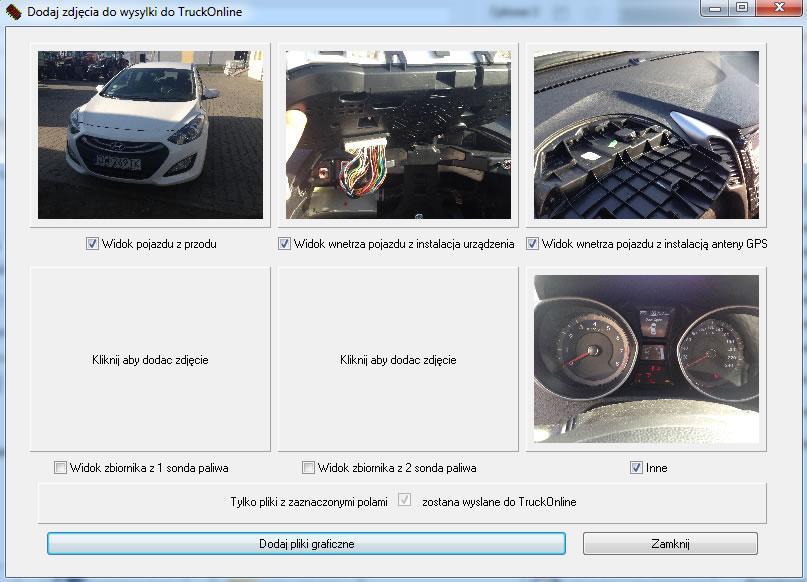 monitoring samochodów